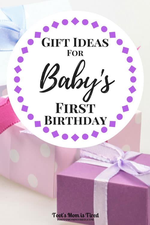 Gift Ideas For Baby S First Birthday What Do You Get A One Year Old